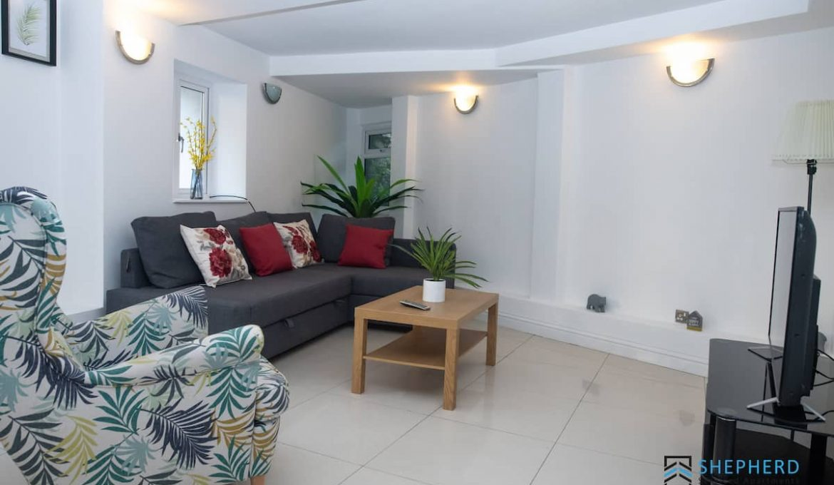 Reading City Centre Apartment with Garden